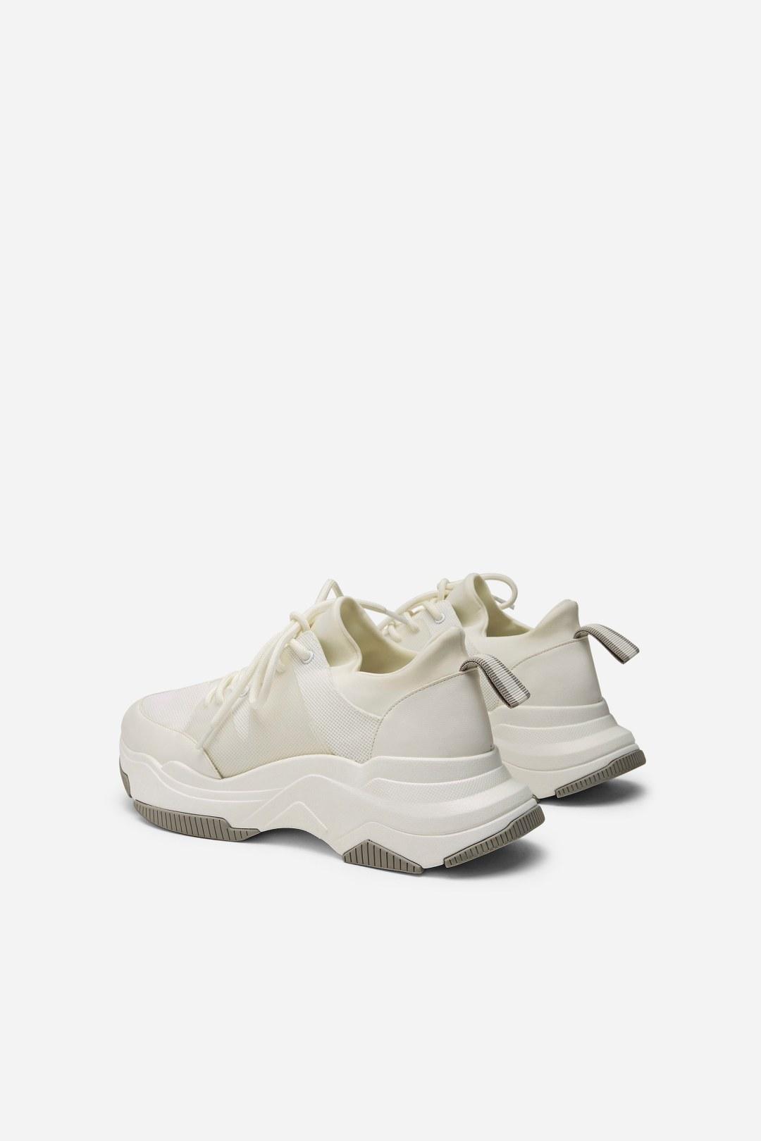 Charles keith小厚底系带运动鞋小CK1-71700039-小ck中文网